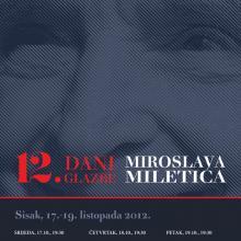 In memoriam Miroslav Miletić, hrvatski skladatelj (1925. Sisak – 2018. Zagreb)